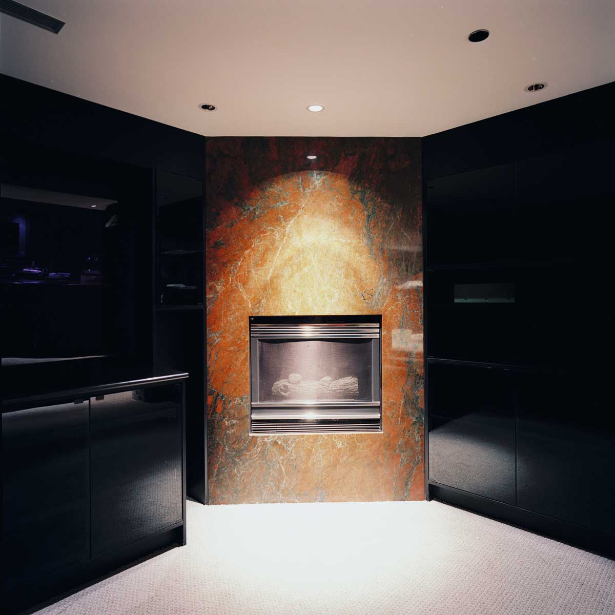 fireplaces continental stone